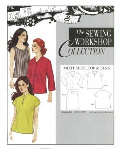 Sewing Workshop Collection - MixIt Shirt, Top & Tank
