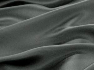 Silk Charmeuse Fabric - Dark Grey