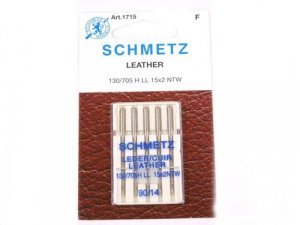 Schmetz Leather Needles, size 90/14