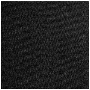 Coutil - Black Herringbone Cotton Corseting Fabric - priced per 1/2 yd