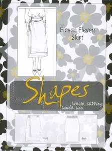 """Shapes"" by Linda Lee and Louise Cutting - Eleven Eleven Skirt"