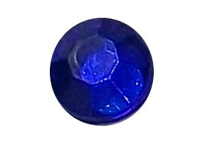 Wholesale Acrylic Jewels - Sapphire Glue-On Gemstone - Size 30 Round, 6mm - 144 jewels, 1 gross