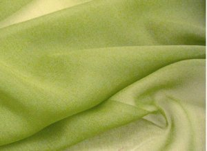 Silk Chiffon Fabric - Lt. Olive Green