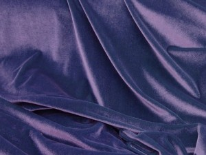Wholesale Stretch Velvet - Purple #1032  17yds