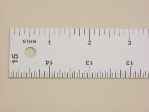 "Lance Straight Edge Ruler-15"" x 1 1/4"""