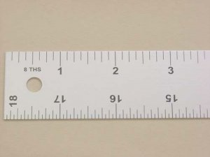"Lance Straight Edge Ruler-18"" x 1 1/4"""