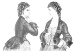 Truly Victorian #405 - 1872 - 1875 Vest Basque - Historical Bodice Pattern