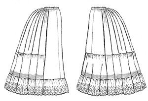 Truly Victorian #170 - 1870-1897 Victorian Petticoats - Underwear for all Eras