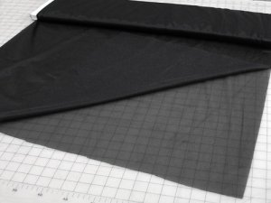 "Fusible Tricot Medium Weight Interfacing 60"" Q7431- Black"