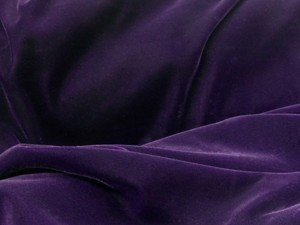 Triple Velvet Fabric - Purple