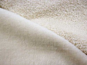 Wholesale- Turkish Spa Terry Velour - 12 oz., Natural 12yds