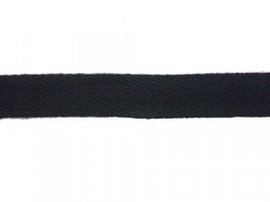 "Twill Tape - 1/2"" Black"