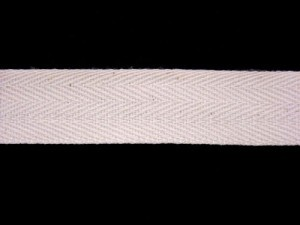 "Twill Tape - 3/4"" Cotton Natural"