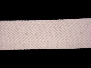 "Twill Tape - 1"" Cotton Natural"