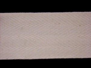 "Twill Tape - 1.5"" Cotton Natural"