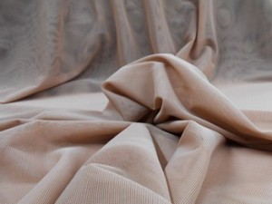 Wholesale Vera Sheer Stretch Mesh - Mocha -  25yds