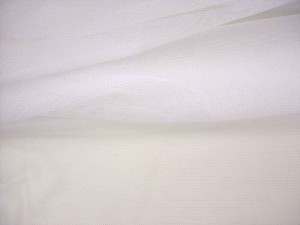 Wholesale Vera Sheer Stretch Mesh - White - 25yds
