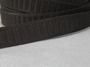 "Wholesale Flat Woven Non Roll Elastic WE-5 - Black 1"" 100yds"