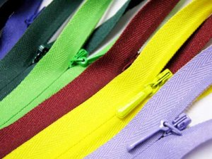 YKK Invisible Zippers - 22 inch in several colors