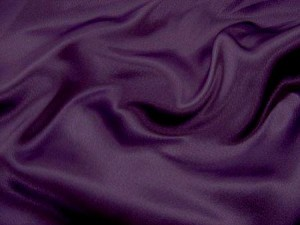 Wholesale Crepe Back Satin Eggplant, 17 yds