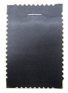 Coutil - Black Satin Corseting, priced per 1/2 yard