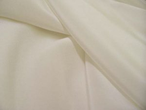 Silk Crepe De Chine - Diamond White