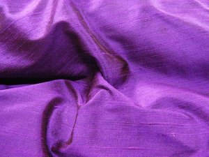 Silk Dupioni Fat Quarter - Purple