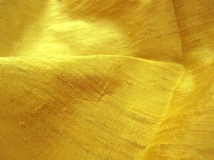 Silk Dupioni Fat Quarter - Yellow