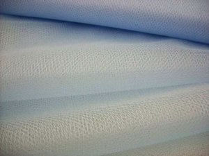 "Nylon - Craft Netting 72"" wide - Soft Blue"