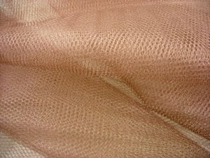 "Nylon - Craft Netting 72"" wide - Brown"