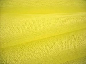 "Nylon - Craft Netting 72"" wide - Lemon Yellow"