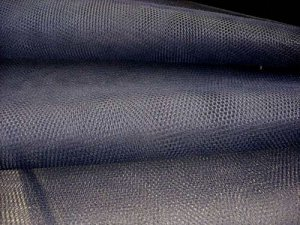 "Nylon - Craft Netting 72"" wide - Navy"