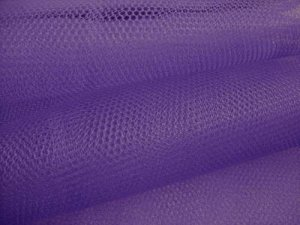 "Nylon - Craft Netting 72"" wide - Purple"
