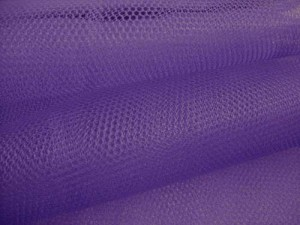 Wholesale Nylon Craft Netting - Purple - 40 yards