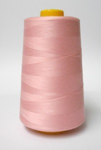 Wholesale Serger Cone Thread - Pink 602  -    50 spools per case - 4000yds per spool