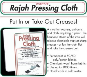 Rajah Pressing Cloth by Sullivans