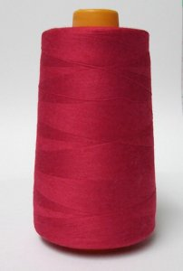 Wholesale Serger Cone Thread - Red 613 - 50 spools per case - 4000yds per spool ***Temporarily out of Stock***