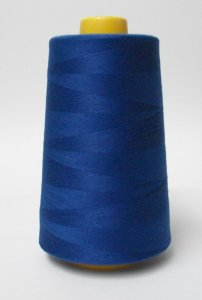 Wholesale Serger Cone Thread - Royal 790  -    50 spools per case - 4000yds per spool