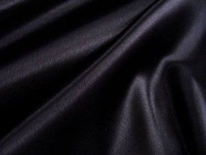 Wholesale Crepe Back Satin Black, 17 yds
