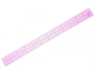 Tailoring Supplies C-Thru Graph Ruler B60-12 inch with grid