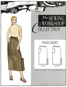Sewing Workshop Collection Oasis Skirt