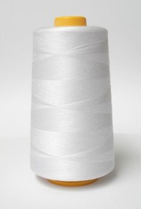 Serger Cone Thread - 4000 yds   White 651