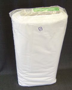 "Wholesale Muslin Fabric - 60"" Bleached Premier Cotton Muslin, 50 yds."