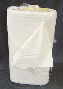 "Wholesale Muslin Fabric- #410 38"" Unbleached Utility Muslin, 50 yds."
