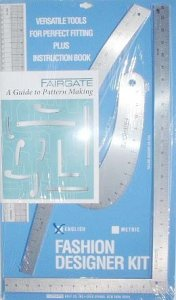 Wholesale Tailoring Supplies - Fairgate Pattern Making Rulers (6 Kits)
