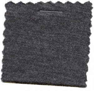 Rayon Jersey Knit Solid Fabric - Two Toned Charcoal - 200GSM