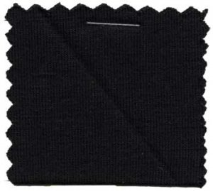 Wholesale Rayon Jersey Knit Solid Fabric - Black - 200GSM  25 yards