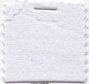 Wholesale Rayon Jersey Knit Solid Fabric - White - 200GSM 25 yards