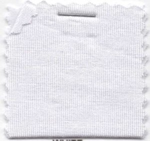 Rayon Jersey Knit Solid Fabric - White - 200GSM