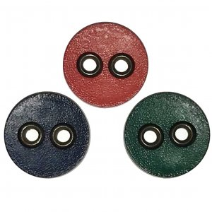 VF196 Button - Round Ring Buttons in three colors